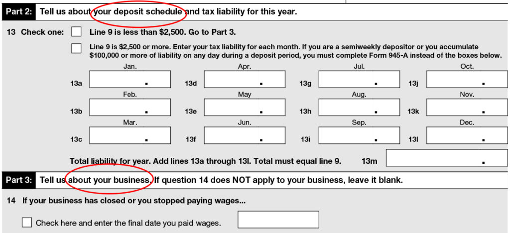 Irs Form 944 Form 944 Instructions Where To File Information
