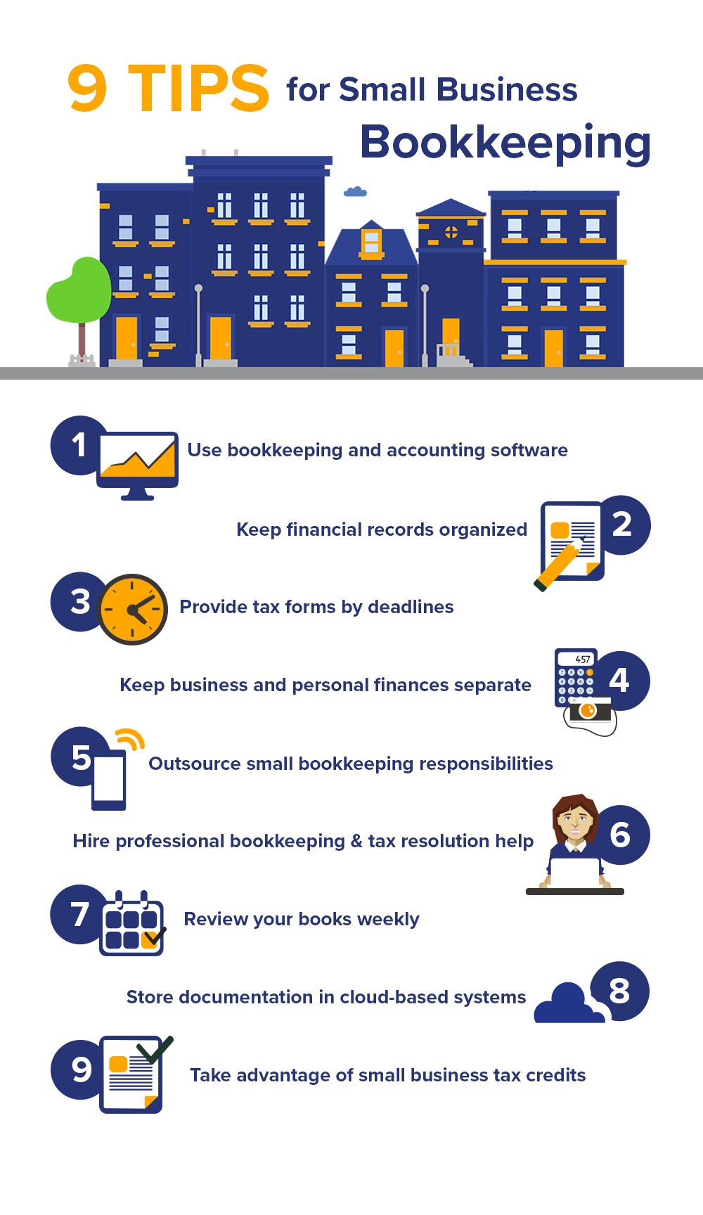 Small business bookkeeping 9 tips and tricks community tax whether you plan on handling your small business bookkeeping yourself or hiring a professional bookkeeper its important to understand best practices for solutioingenieria Images