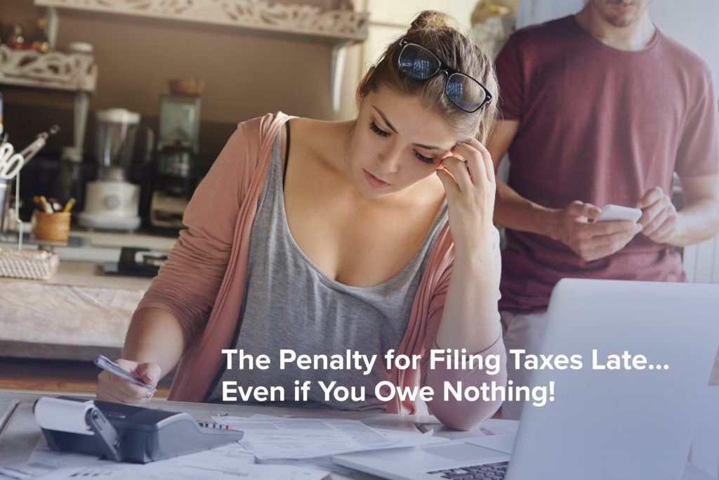 The Penalty for Filing Taxes Late & Past Due (Even If You