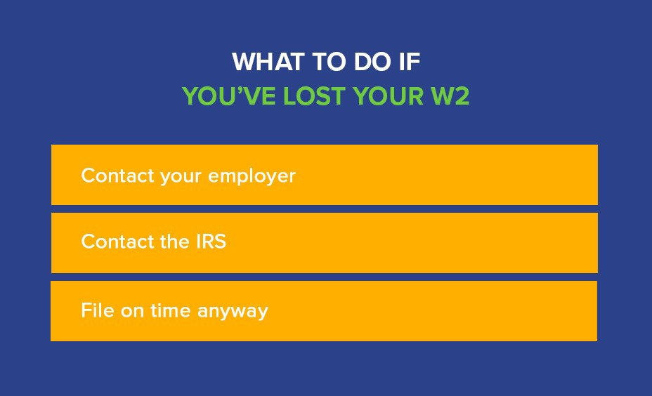 Lost W2? No Problem! Lost W2 Help | Community Tax