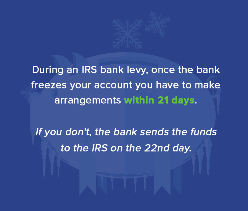Bank Levy Release: How to Release an IRS Bank Levy
