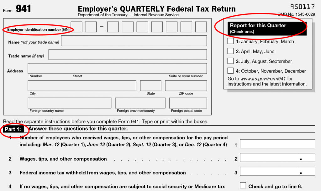 federal form 941  Form 15: Instructions & Info on Tax Form 15 (including ...