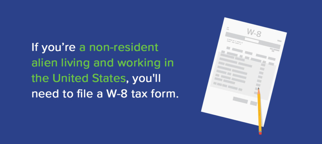 Form W8 Instructions Information About Irs Tax Form W8