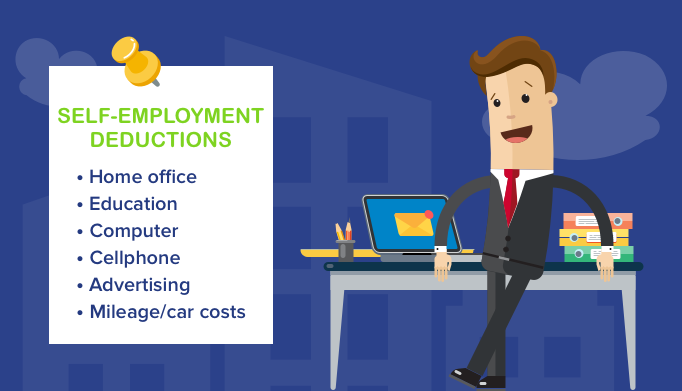 10 Tax Deductions for the Self-Employed
