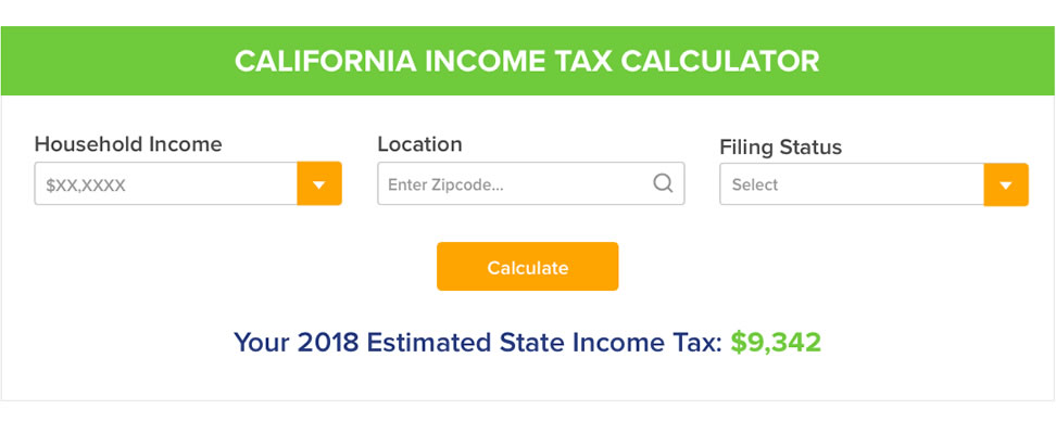 California Tax Calculator >> Texas Income Tax Calculator Community Tax