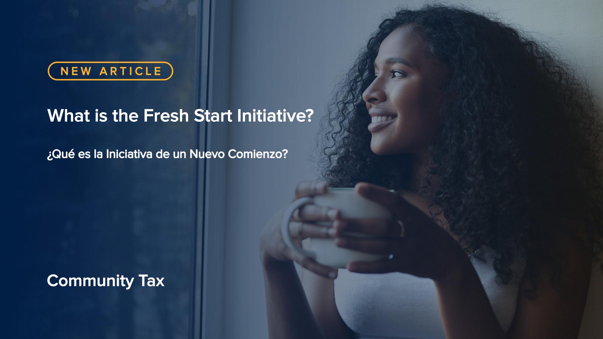 ¿Qué es la Iniciativa de un Nuevo Comienzo?